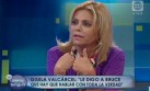 Gisela Valcárcel no pudo contestar pregunta sobre unión civil