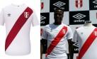 Las camisetas que estrenará Perú ante Inglaterra y Suiza