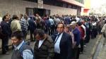 Largas colas tras reinicio de actividades en el Poder Judicial - Noticias de federación nacional de trabajadores del poder judicial