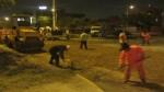 Comas: mejoran pistas en avenidas Universitaria y Metropolitana - Noticias de ivan infanzon