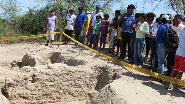 Arqueólogos hallan asentamiento tallán en caserío de Chaquira