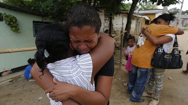 Trece niños de una misma familia entre víctimas de autobús