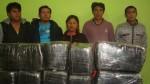 PNP intervino a cinco personas con 60 kilos de marihuana - Noticias de tania rodriguez