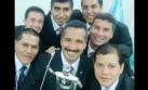 Árbitros de la final y el selfie antes del Alianza-San Martín
