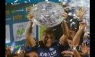 Alianza campeón: el preciso momento en que levantó el trofeo