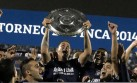 Alianza Lima y el festejo del título del Torneo del Inca 2014