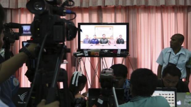 El Ejército de Tailandia anuncia un golpe de Estado por TV