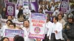 Huelga médica: Gremios anuncian marcha hoy al Congreso - Noticias de federación de enfermeras del ministerio de salud