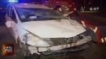 Oficial de Marina protagoniza accidente en la Costa Verde - Noticias de accidente automovolistico