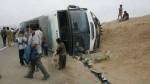 Accidente en Áncash: despiste de bus dejó al menos 16 heridos - Noticias de cecilia alvarado
