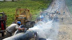 Consorcio espera pedido para devolver el gasoducto del sur
