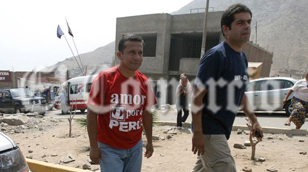 Martín Belaunde Lossio fue asesor de prensa de Ollanta Humala en las elecciones del 2006. (Foto: Lino Chipana Obregón / archivo El Comercio)