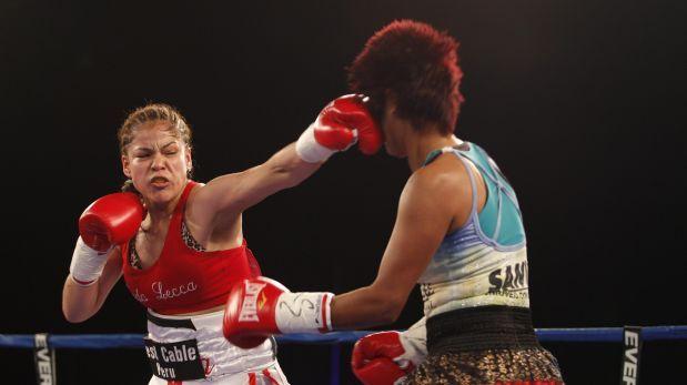 Linda Lecca es la nueva campeona mundial supermosca de la AMB