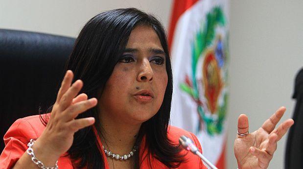 """Ana Jara: mujeres deben evitar acosadores con """"clavos y agujas"""""""