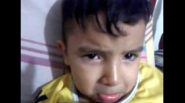 La tristeza de un niño al enterarse que Falcao no irá a Brasil