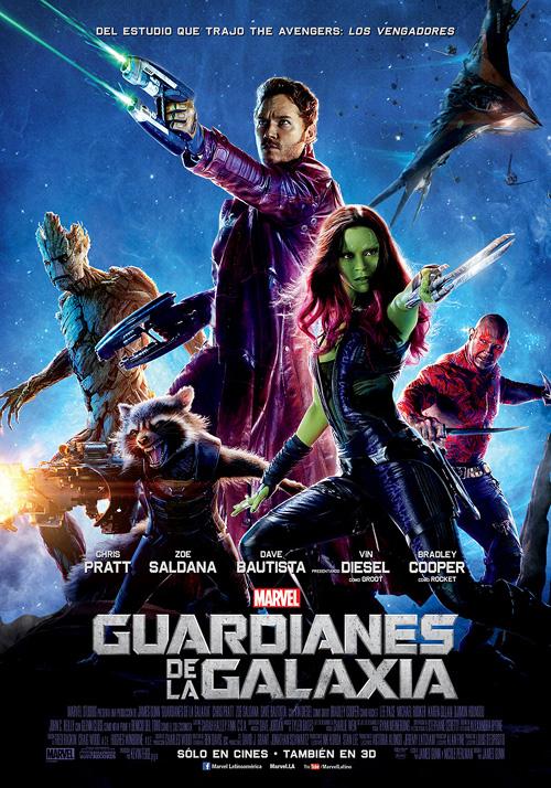 Sinopsis en Español: En los confines del espacio, un piloto estadounidense llamado Peter Quill se encuentra el objeto de una persecución tras robar un orbe codiciado por el villano Ronan.