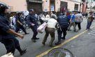Intervención de Lima en Mesa Redonda derivó en pelea a pedradas