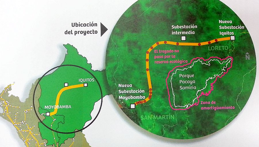 [Foto] Consorcio Isolux ganó concesión de la línea Moyobamba-Iquitos