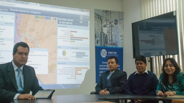 Un mapa ubica producción científica de investigadores peruanos