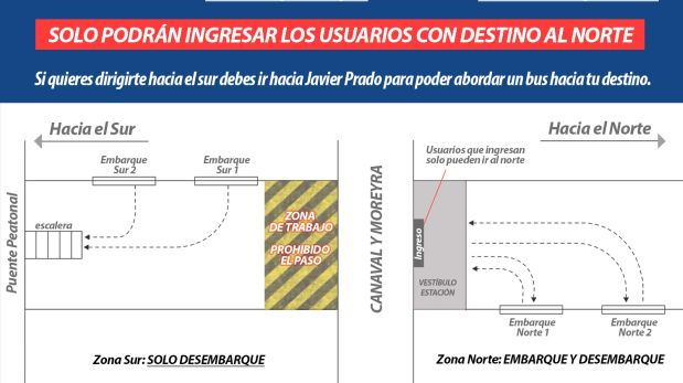 Este es el plano difundido por la Municipalidad de Lima. (Imagen: Difusión)