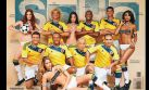 Ex futbolistas colombianos se lucen en candente sesión de Soho