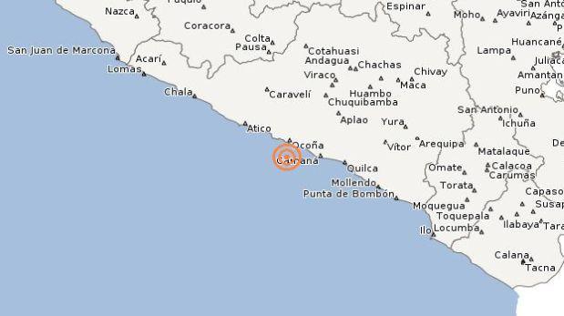 Arequipa registró dos temblores en menos de una hora