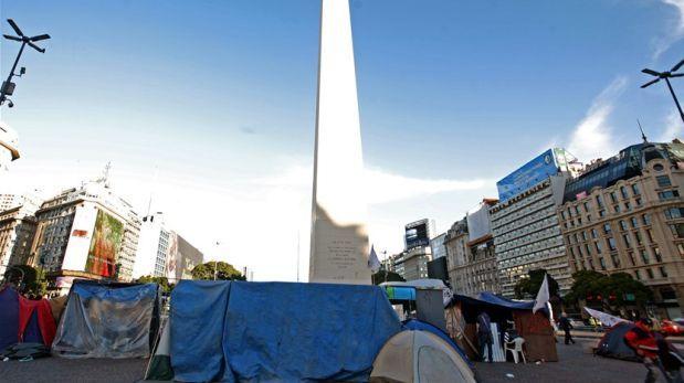 """Argentina: Y un día nació la """"Villa Obelisco"""""""