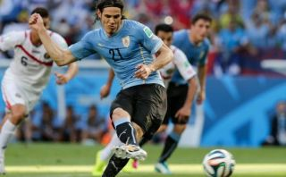 Uruguay vs. Costa Rica: Cavani marcó de penal para 'charrúas'