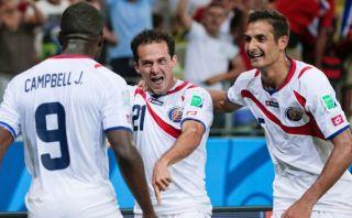 Costa Rica ganó 3-1 a Uruguay y da la sorpresa en el Mundial