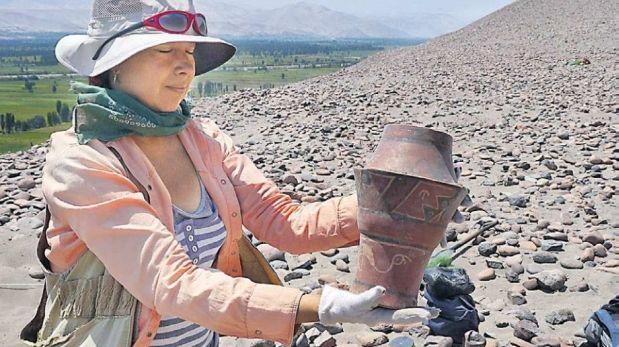 Arequipa: hallan tumba tiahuanaco en el valle de Tambo