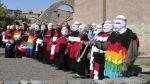 Muros incas serán vigilados por estos coloridos personajes - Noticias de fibra de alpaca