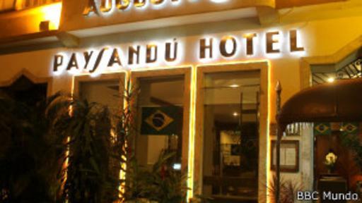 El hotel Paysandú hoy. (Foto: BBC Mundo)