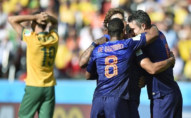 [Foto] Finales felices: ocho remontadas en lo que va del Mundial