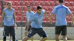 Luis Suárez se recuperó para choque contra Italia del martes - Noticias de edinson cavani