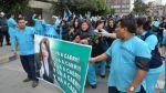 Enfermeras de Essalud protestaron encadenadas y 'llorando' - Noticias de huelga de enfermeras
