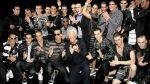 Giorgio Armani en la Semana de la Moda Masculina de Milán - Noticias de armani milan