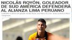 Uruguayo Nicolás Royón sería el nuevo delantero de Alianza Lima - Noticias de tenfield