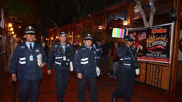 Miraflores responde denuncias de inseguridad con operativos
