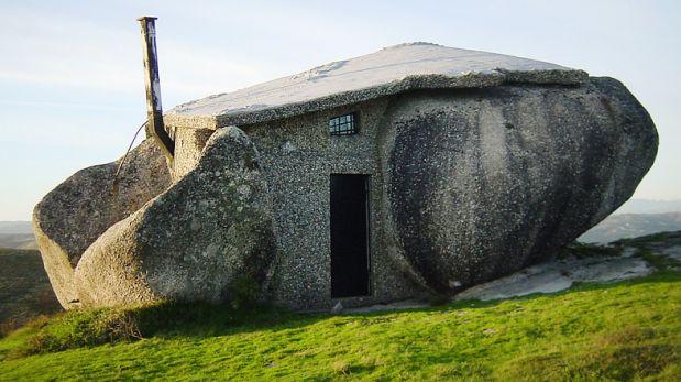 Al estilo picapiedra conoce esta casa de piedra en for Como construir una casa de piedra