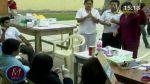 Chimbote: médicos atienden a pacientes en cancha de fulbito - Noticias de pueblos jovenes