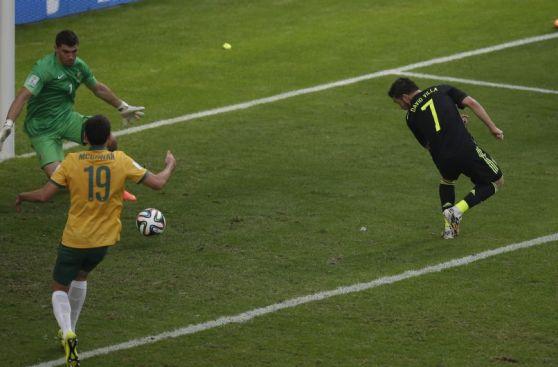 Brasil 2014: los mejores goles en fase de grupos para la FIFA