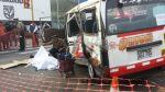 Multarán con S/.15 mil a empresas que provoquen accidentes - Noticias de accidente de transito