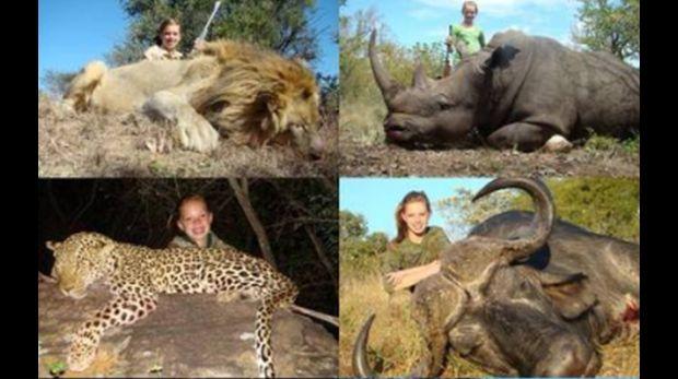 Cientos de usuarios de Facebook exigen el cierre del perfil de Kendall Jones apelando a que promueve la crueldad animal. La joven de 19 años, habría practicado la cacería desde que era chica. (Foto: Facebook Kendall Jones)
