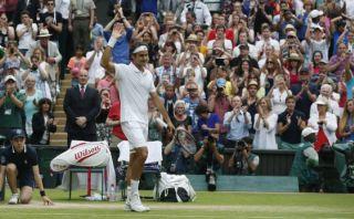 Federer venció a Wawrinka y pasó a las semifinales de Wimbledon