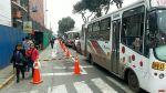 Paradero lleva meses obstruido por obra en Miraflores - Noticias de transporte público en lima
