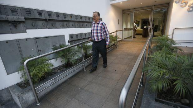 Los edificios Bamboo tienen rampas y barandas en sus accesos externos. (Foto: Dante Piaggio / El Comercio).