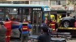Miraflores: triple choque dejó 12 heridos en Av. Del Ejército - Noticias de transporte público en lima