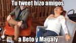 Los memes del encuentro de Magaly Medina y Beto Ortiz - Noticias de memes del día