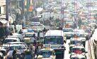 El aire se hace irrespirable por aumento del parque automotor