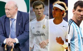 Messi, Nadal y Bale expresan su pesar por muerte de Di Stéfano